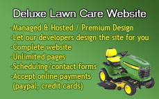 Deluxe Lawn Care Website